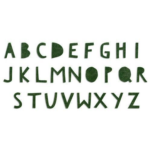 Sizzix Bigz XL Alphabet Die - Cutout Upper 662707 Tim Holtz (03 -18)