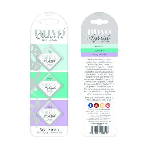 Nuvo Diamond hybrid ink pads - sea siren 81N (02-18)