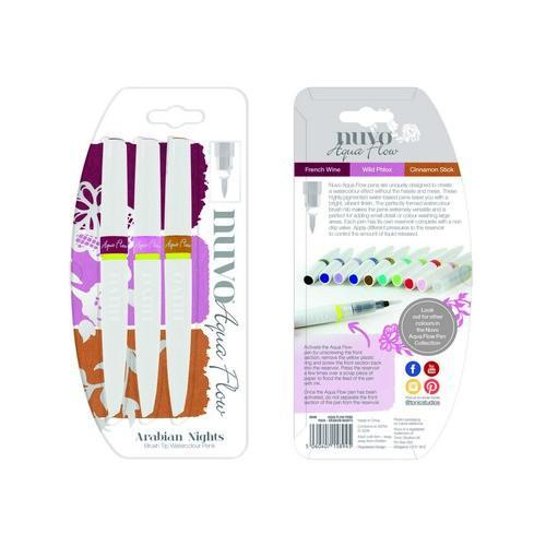 Nuvo Aqua flow pens - arabian nights 894N (02-18)