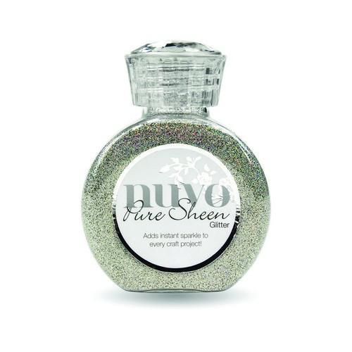 Nuvo Pure sheen glitter - mirrorball 719N (02-18)