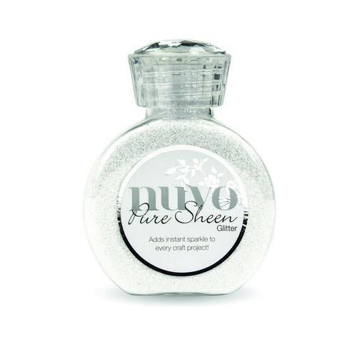 Nuvo Pure sheen glitter - ice white 721N (02-18)