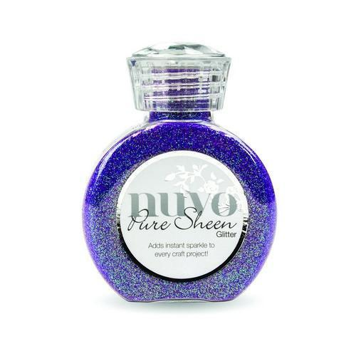 Nuvo Pure sheen glitter - violet infusion 723N (02-18)