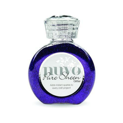 Nuvo Pure sheen glitter - purple organza 724N (02-18)