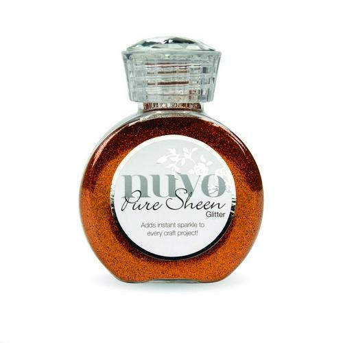 Nuvo Pure sheen glitter - apricot 727N (02-18)