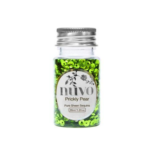 Nuvo Sequins - prickly pear 35ml bottle 1140N (02-18)
