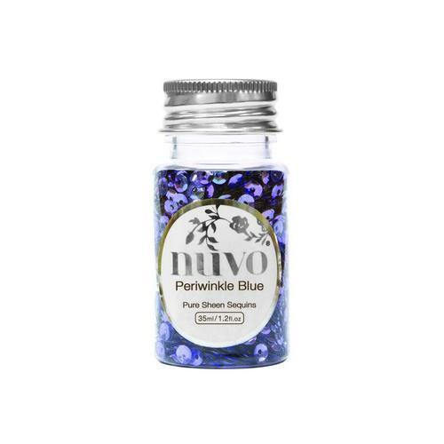 Nuvo Sequins - periwinkle blue 35ml bottle 1141N (02-18)