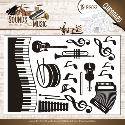 Amy Design - Chipboard Sounds of Music