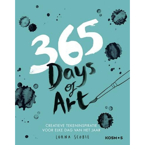 Kosmos Boek - 365 days of art Scobie, Lorna (02-18)