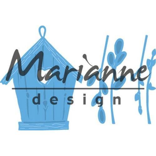 Marianne D Creatable Willow cats & birdhouse LR0515 (03-18)