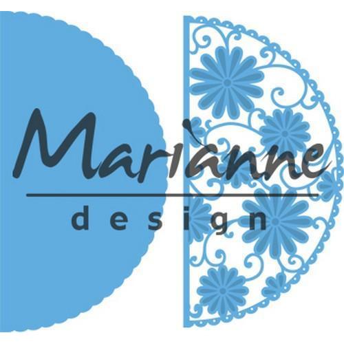 Marianne D Creatable Anja`s flower demi circle LR0517 (03-18)