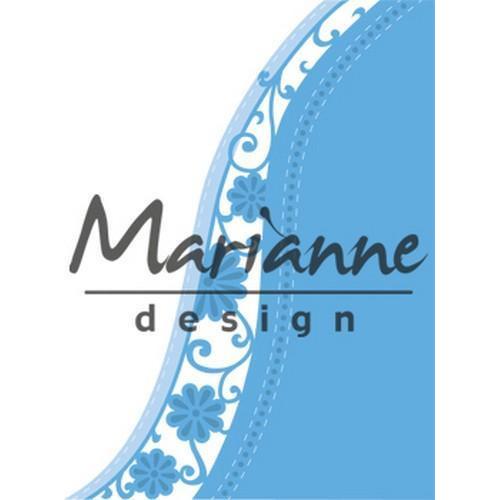 Marianne D Creatable Anja`s flower wave LR0518 (03-18)
