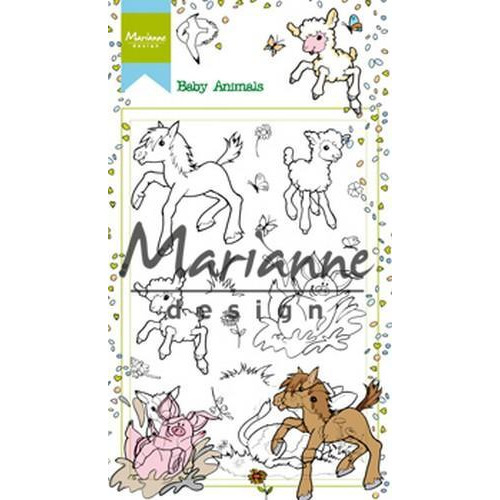 Marianne D Stempel Hetty's Baby Animals HT1630 (03-18)