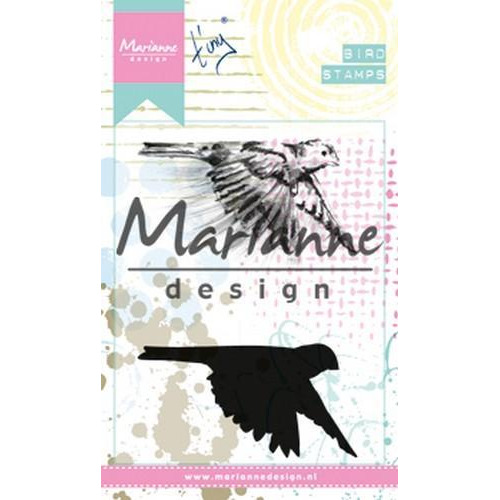 Marianne D Cling Stempel Tiny's Birds 1 MM1618 (03-18)