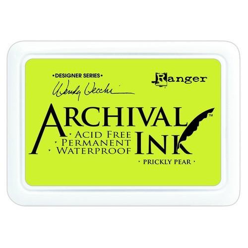Ranger Archival Ink pad - prickly pear AID61274