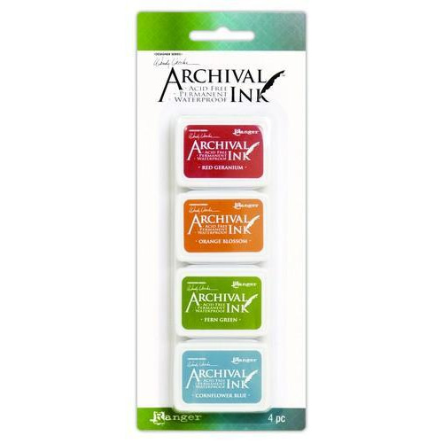 Ranger Archival Mini Ink Kit 4 AMDK58960 Wendy Vecchi