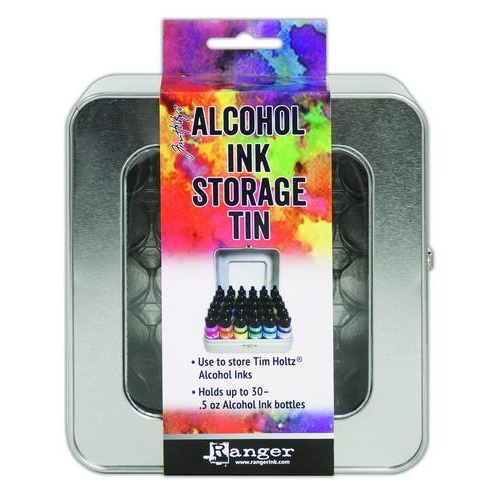 Ranger Alcohol Ink Storage Tin TAC58618 Tim Holtz