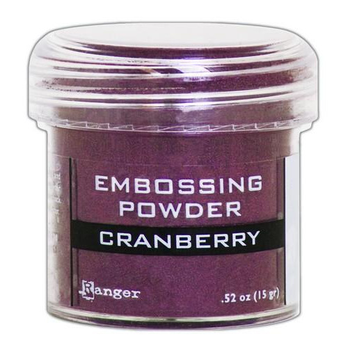 Ranger Embossing Powder 34ml -  cranberry metallic EPJ60352