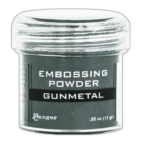Ranger Embossing Powder 34ml -  gunmetal metallic EPJ60369