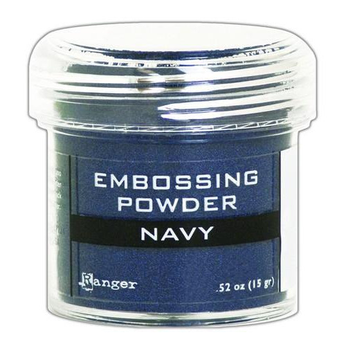 Ranger Embossing Powder 34ml -  navy metallic EPJ60383