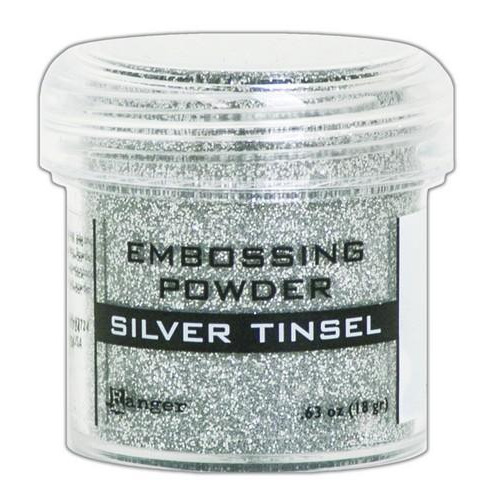 Ranger Embossing Powder 34ml -  silver tinsel EPJ60437