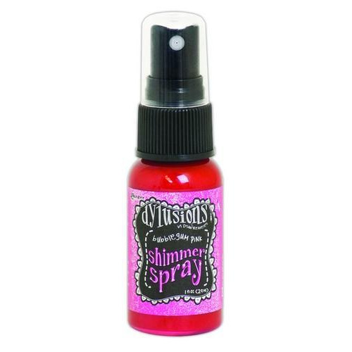 Ranger Dylusions Shimmer Spray 59 ml - bubblegum pink DYH60772 Dyan Reaveley
