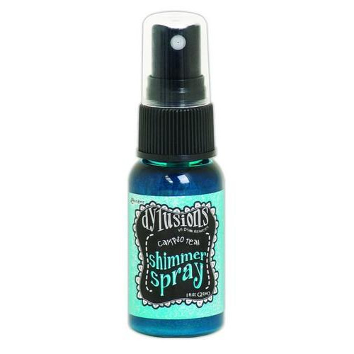 Ranger Dylusions Shimmer Spray 59 ml - calypso teal DYH60789 Dyan Reaveley
