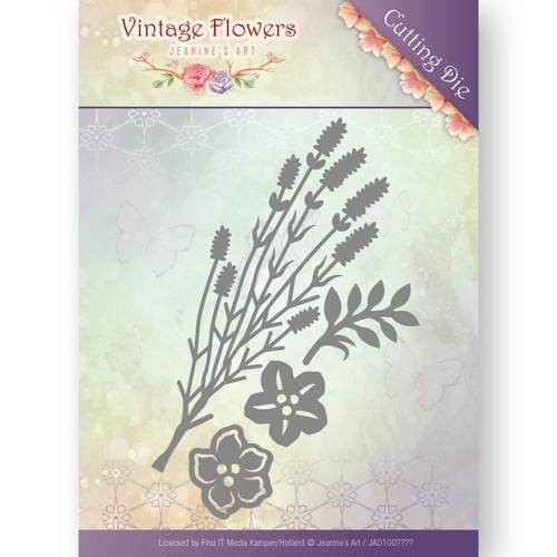 Dies - Jeanine`s Art - Vintage Flowers - Vintage Foliage
