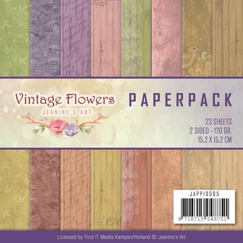 Paperpack - Jeanine Art - Vintage Flowers