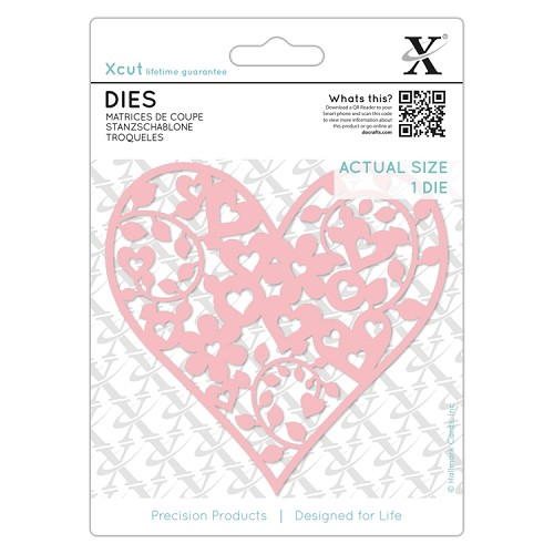 Dies (1pc) - Floral Love Heart