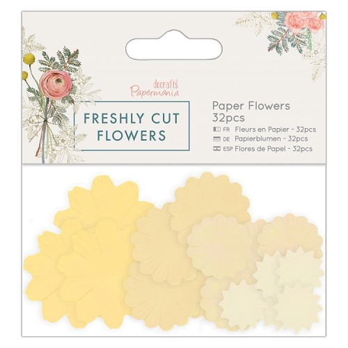 Paper Flowers (32pcs) - Freshly Cut Flowers