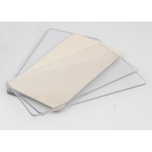 Nellie's Choice Transparent plate Touros-mini 165x78x5mm TPT002
