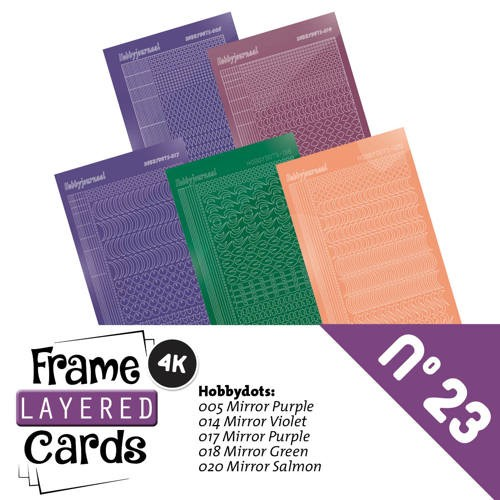 Frame Layered Cards 23 - Stickerset