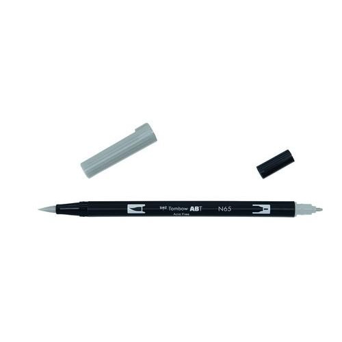 Tombow ABT dubbele brushpen cool grey5 ABT-N65