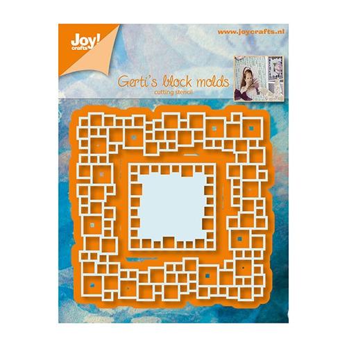 6002/1043 - Gerti`s Block molds,82x83 / 38x38 mm
