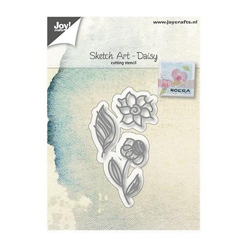 Sketch Art - Daisy,24x23 / 34x14 / 24x43 mm