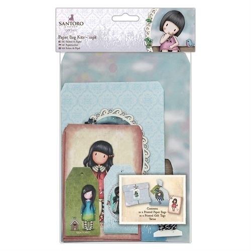 Paper Bag Kits (12pk) - Santoro