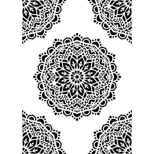 """Stencil A5 size """"pattern-7"""