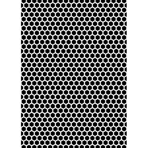 """Stencil A5 size """"pattern-6"""