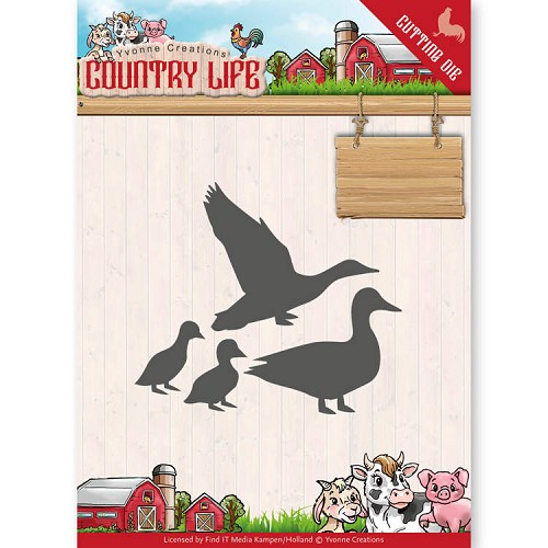 Dies - Yvonne Creations - Country Life Ducks
