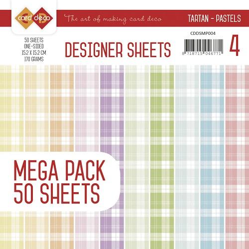 Designer Sheets Mega Pack 3 - Tartan - Pastels