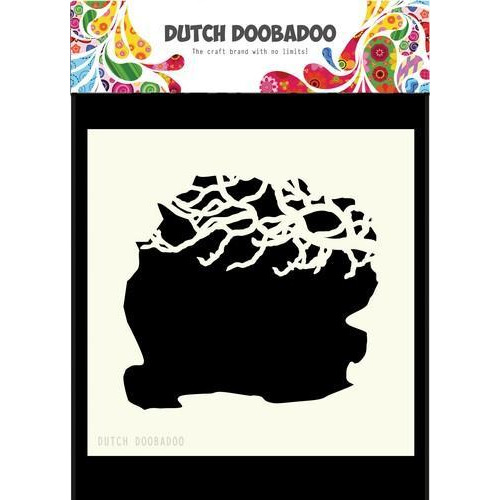 Dutch Doobadoo Dutch Mask Art 15x15cm boomtakken 470.715.606  15x15cm (03-18)