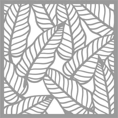 Pronty Mask stencil Tropical leafs 470.801.051 15x15cm (03-18)