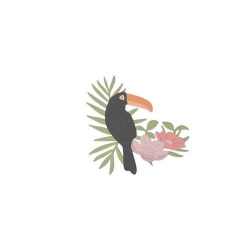 Sizzix Thinlits Die - Tropical Bird 662544 Sophie Guilar  (04-18)