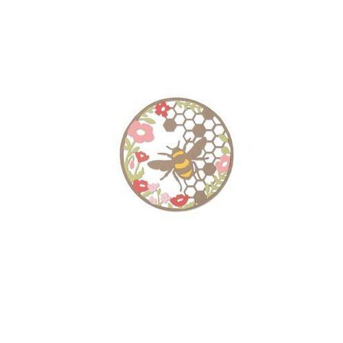 Sizzix Thinlits Die Set 2PK - Honey Bee 662545 Sophie Guilar  (04-18)
