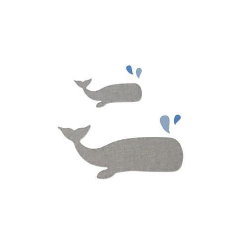 Sizzix Bigz L Die - Whale 662553 Samantha Barnett  (04-18)