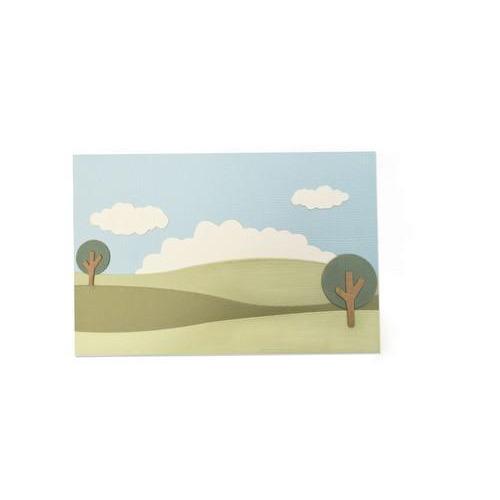 Sizzix Thinlits Die Set 9PK - Build a Landscape 662839 Emily Tootle  (04-18)