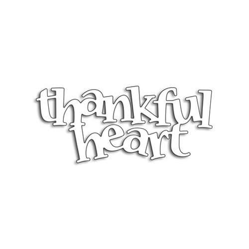 Creative Dies Thankful Heart