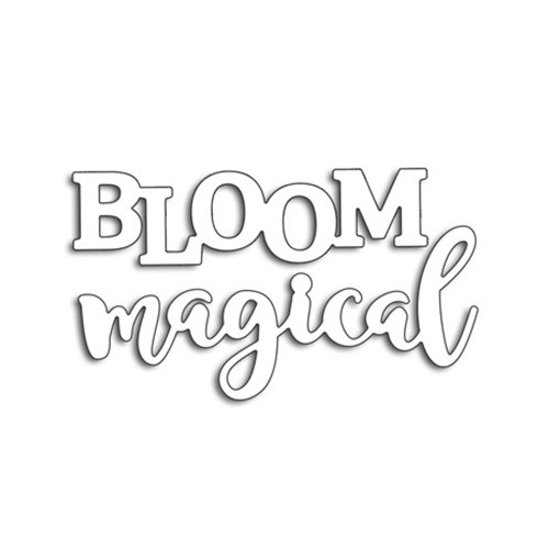 Creative Dies Bloom Magical