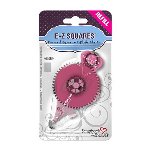 E-Z Squares REFILL – SQUARES (650) - perm.