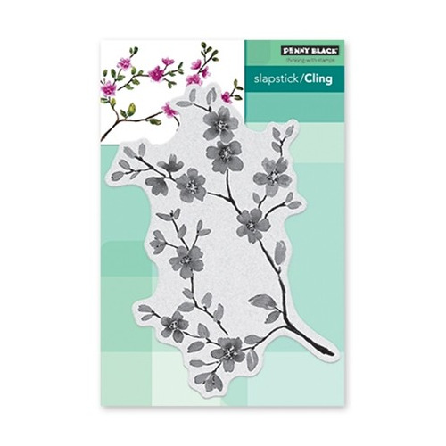 Slapstick/Cling Stamp Blissful Blossoms
